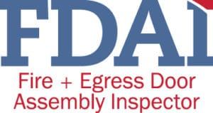 Fire Door Inspection , DHI logo